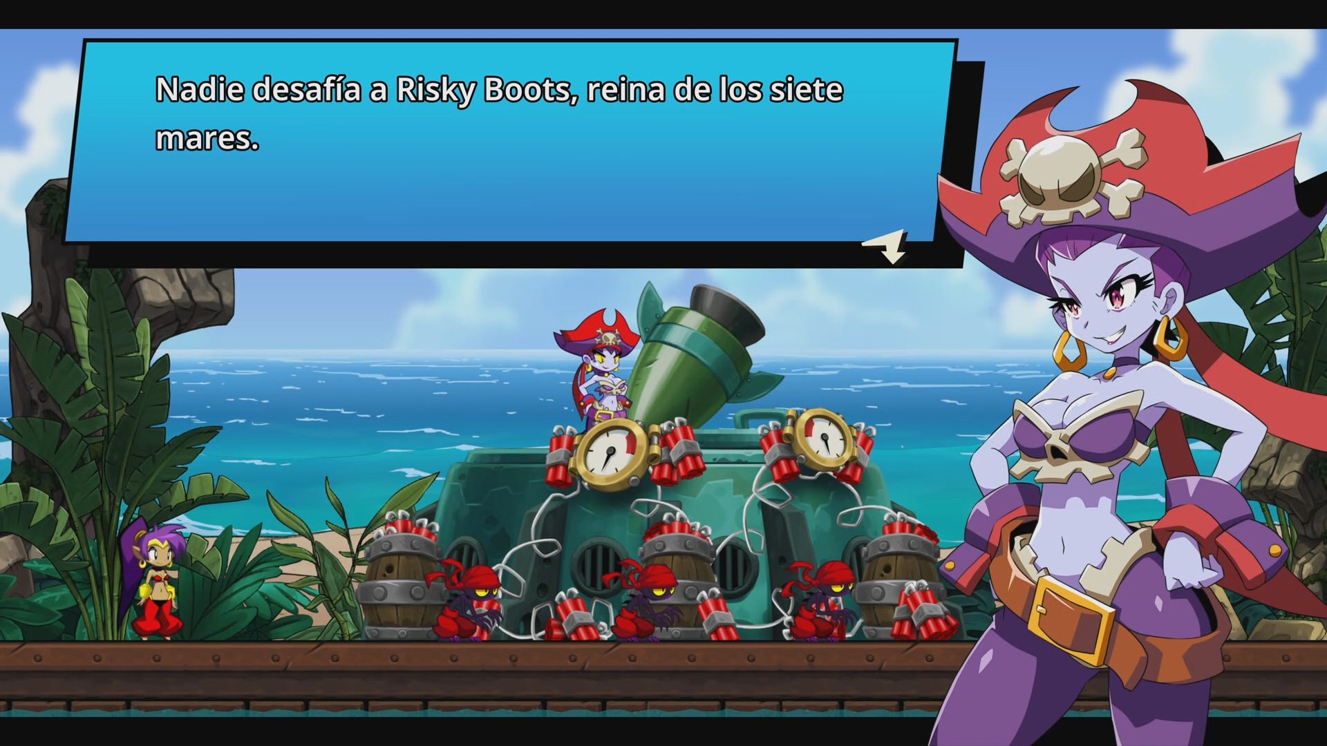 Risky Boots en Shantae and the Seven Sirens