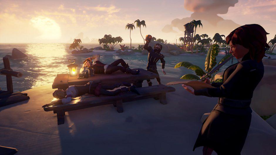 Sea of Thieves añadirá partidas privadas próximamente