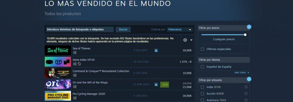 4 juegos de Xbox Game Studios, entre los más vendidos de Steam