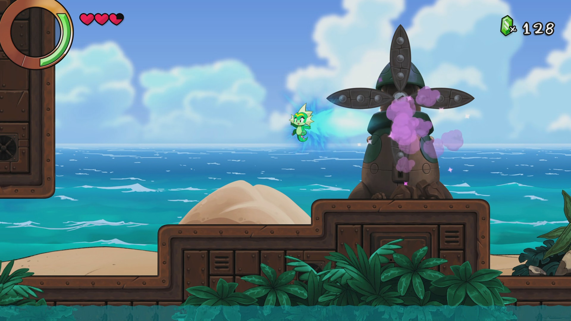 Transformación en Shantae and the Seven Sirens