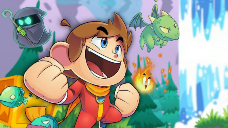 Anunciado el remake Alex Kidd in Miracle World DX a cargo de un estudio español