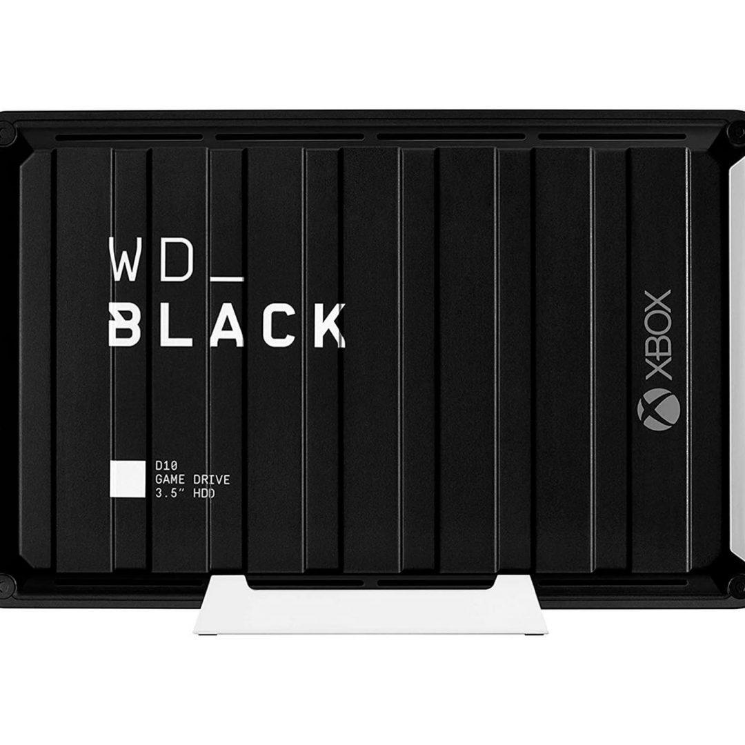 WD Black D10 Game Drive de 12 TB: El mejor compañero para Xbox Game Pass