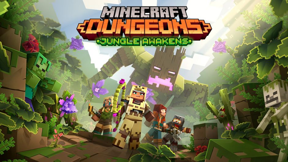 El primer DLC de Minecraft Dungeons llegará la próxima semana