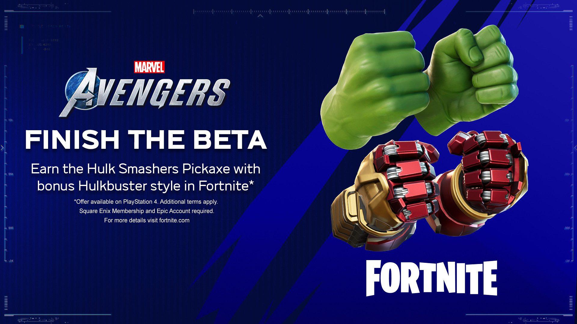 Marvel's Avengers x Fortnite