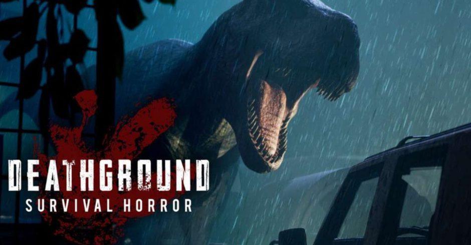 Deathground, el nuevo survival horror con dinosaurios está cerca de alcanzar su meta en kickstarter