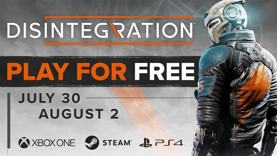 Disintegration: Fin de semana de juego gratis en Xbox One