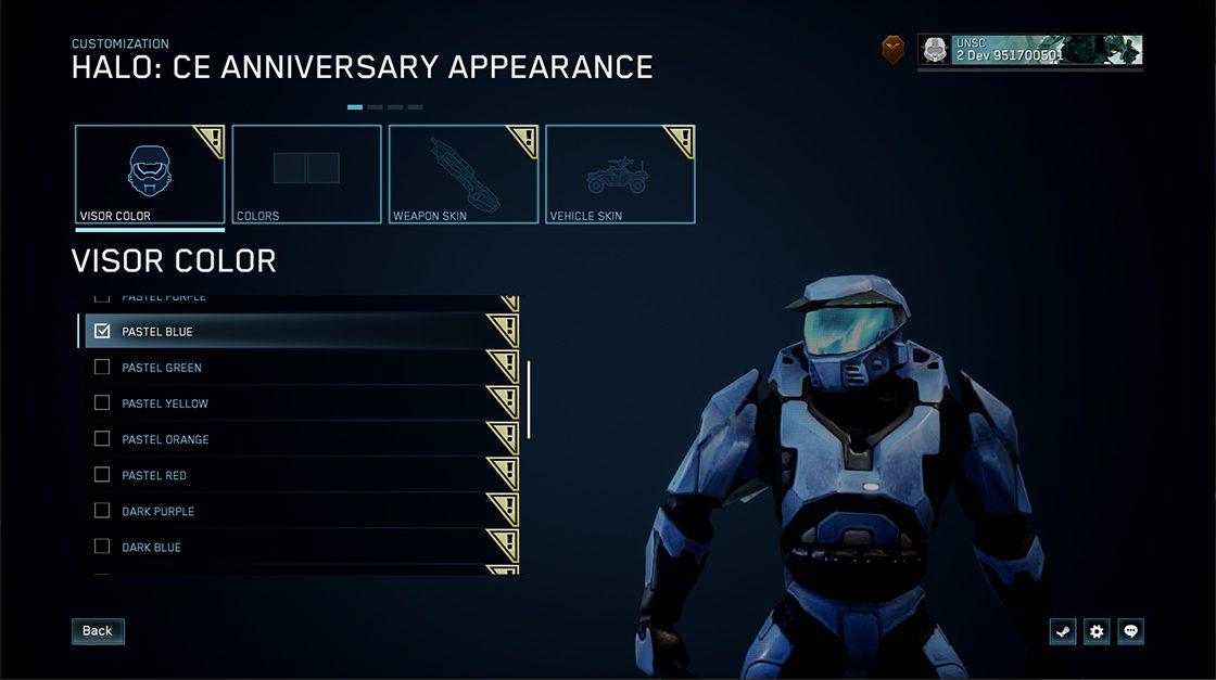 Nuevas opciones de personalización llegarán a Halo Combat Evolved en la Master Chief Collection