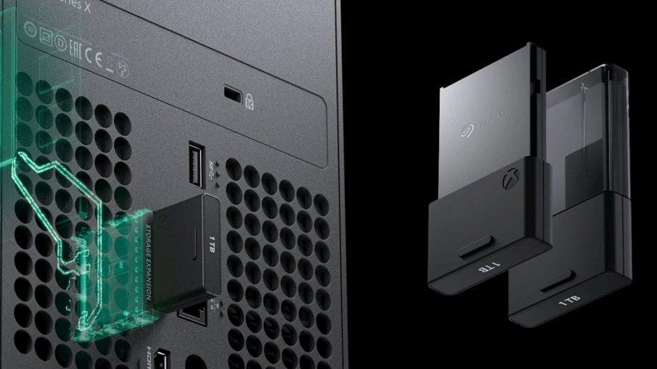La tarjeta de expansión SSD de Xbox Series se abrirá a otras marcas,  opciones y tamaños