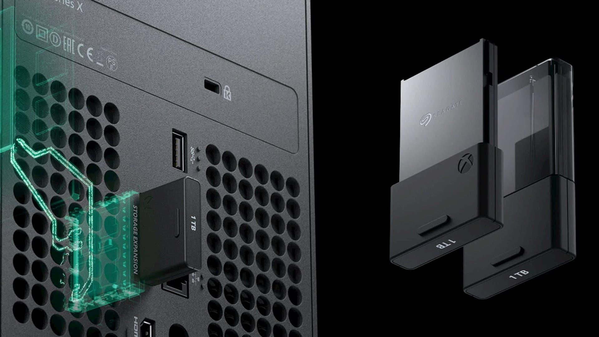Seagate - Tarjetas de expansión Xbox Series X