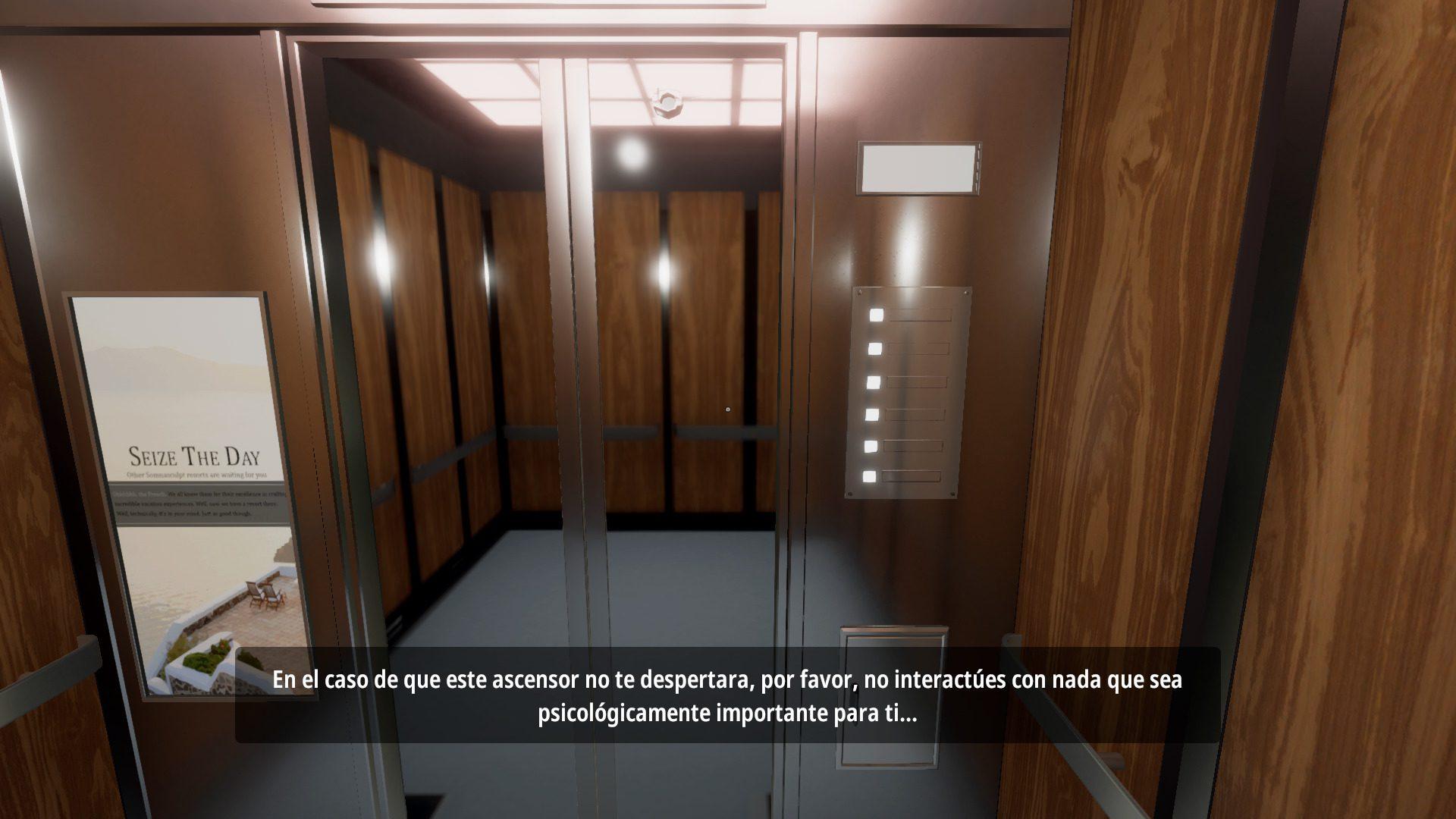 Superliminal ascensor y subtitulos