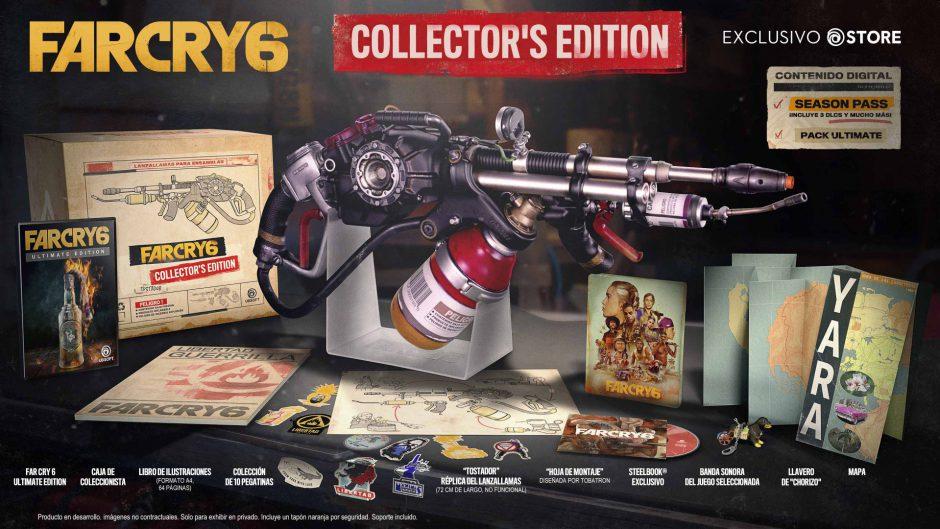 Far Cry 6, WD Legion y AC Valhalla: Sin juego físico en las ediciones coleccionista de Xbox One y Series X
