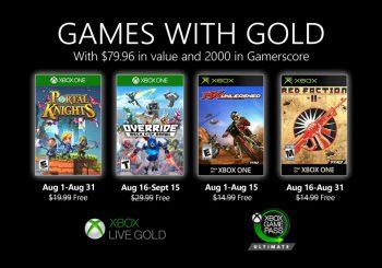 Vota: ¿Qué os parecen los Games With Gold de agosto?