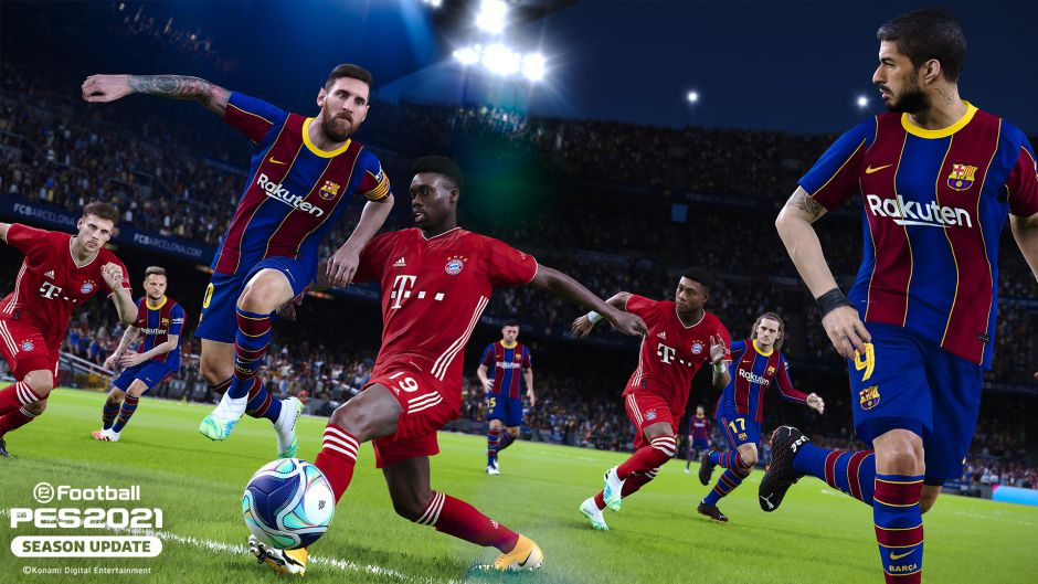 eFootball PES 2021 Season Update ya disponible en Xbox Game Pass