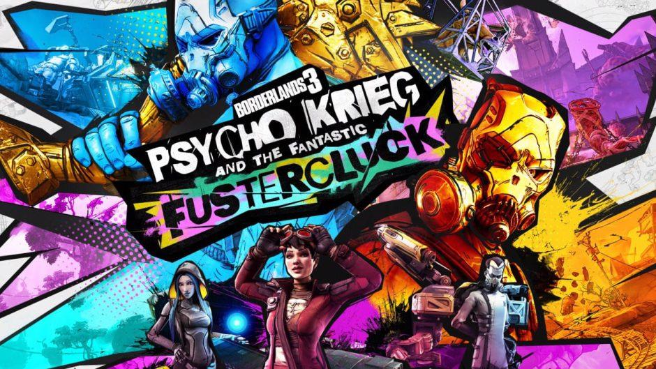 Psyco Krieg and the Fantastic Fustercluck es el nuevo DLC de Borderlands 3