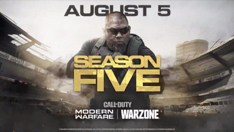 Ya está disponible el tráiler de la temporada 5 de Call of Duty Modern Warfare y trae muchas novedades