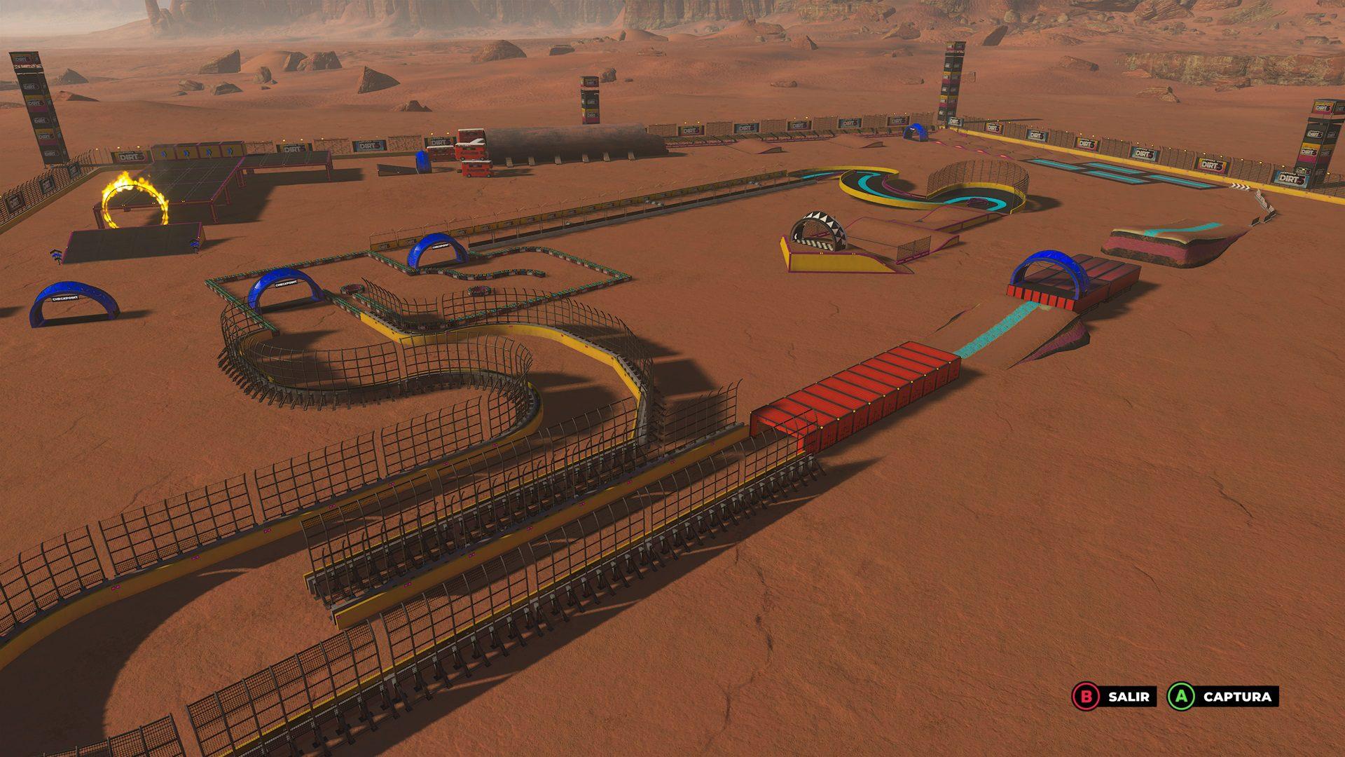 Probamos de manera anticipada el nuevo modo Playgrounds de DIRT 5