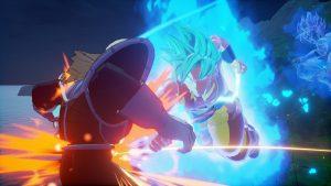 Así lucen Goku y Vegeta Super Saiyan Blue en el nuevo DLC de Dragon Ball Z: Kakarot