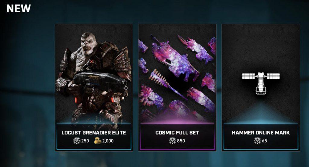 La actualización semanal de Gears 5 trae novedades a la tienda y cambios importantes al multijugador