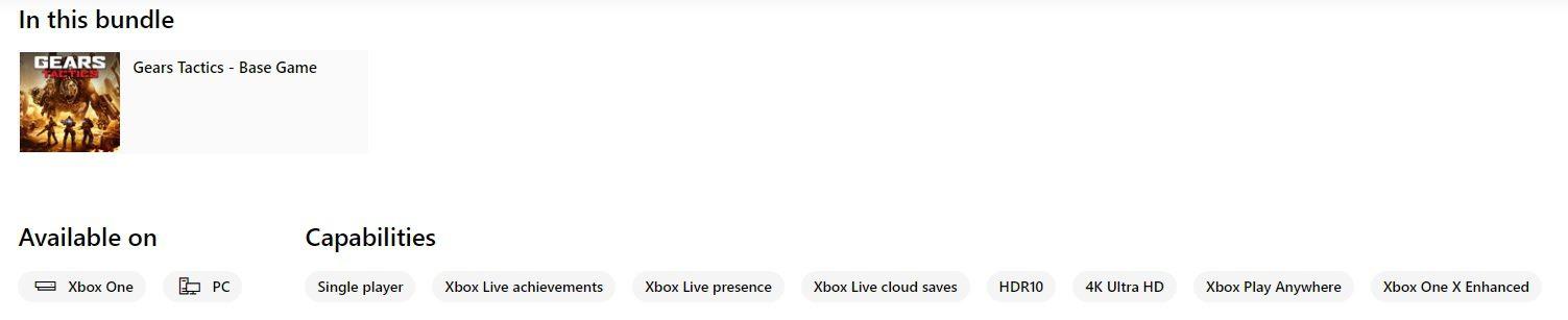 Gears Tactics ya es catalogado como Xbox Play Anywhere