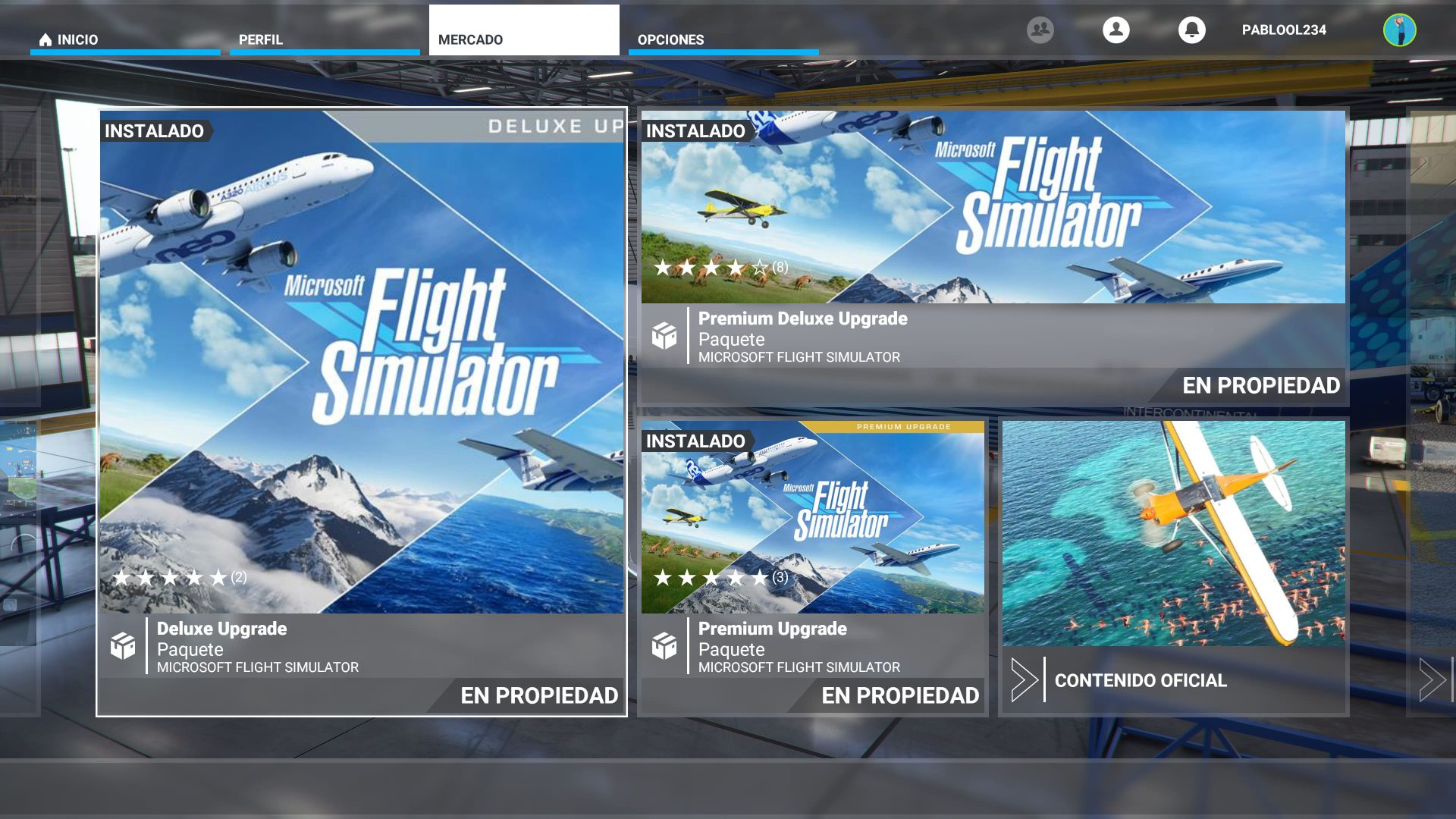 Mercado de Microsoft Flight Simulator