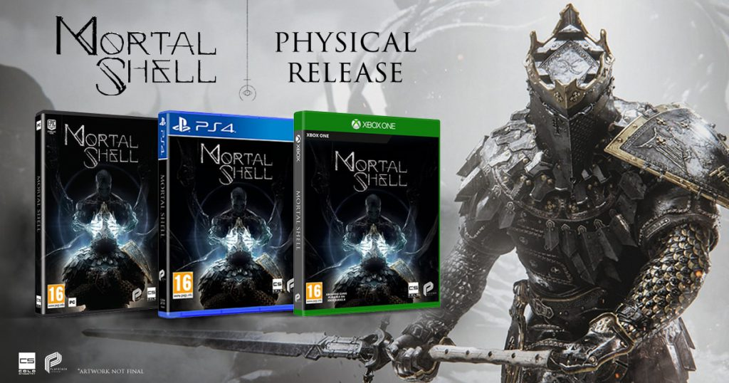 Mortal Shell tendrá edición física el 2 de Octubre