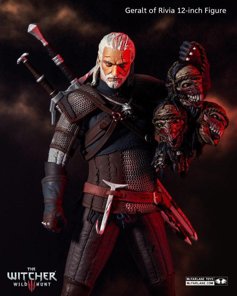 Macfarlane Toys lanzará una nueva figura de The Witcher 3