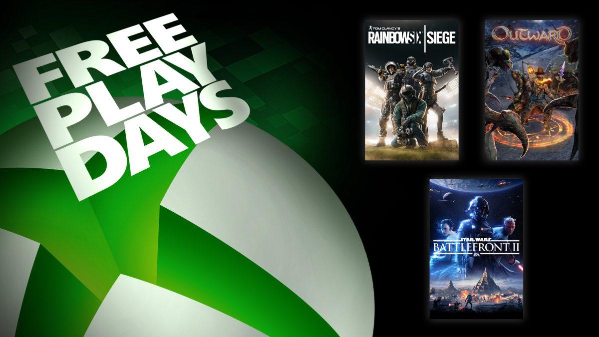 Ya disponibles 3 juegazos en los Free Play Days de este fin de semana