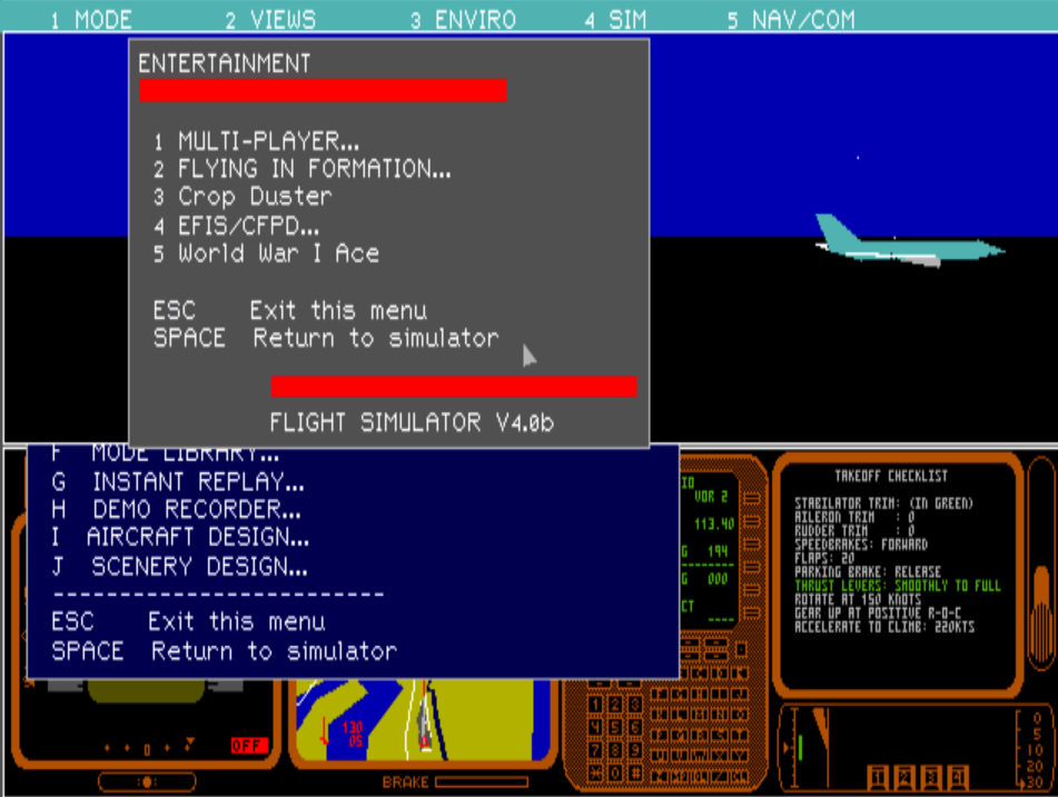 flight simulator v4 - online - generacion xbox