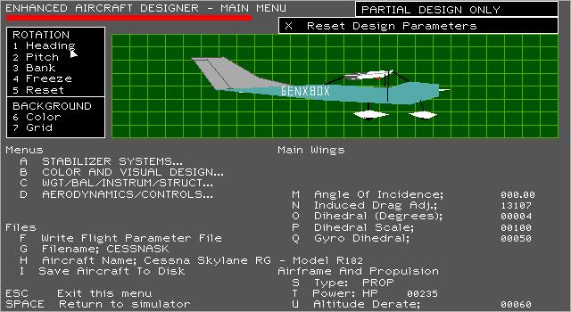 Microsoft flight simulator V4 - aircraft design - generacion xbox