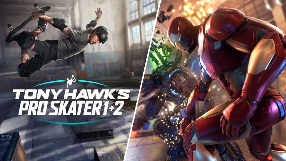 Tanto Marvel`s Avengers como Tony Hawk's Pro Skater 1+2 usarán protección Denuvo