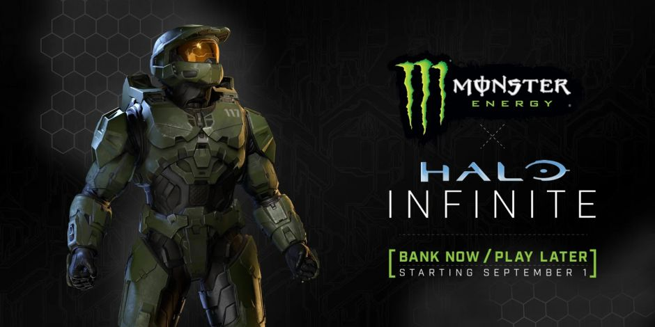 Halo Infinite se asocia con Monster Energy: Diseño de armas y aumento de XP