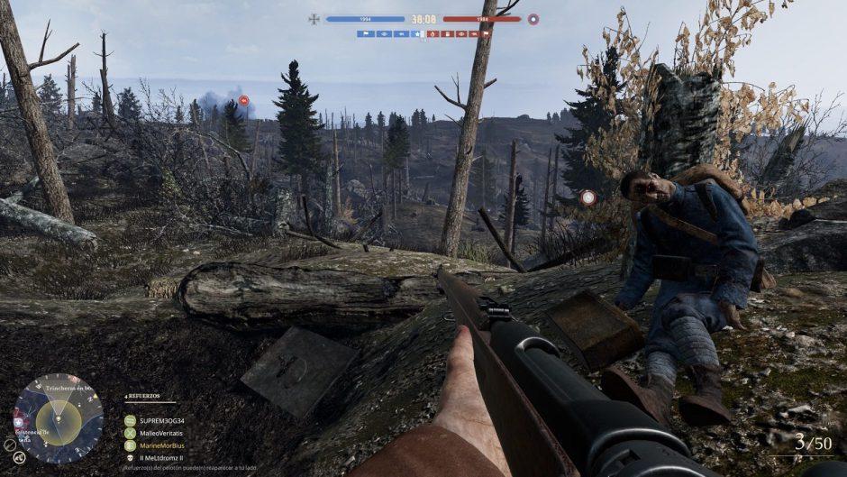 Verdun y Tannenberg cuentan desde hoy con crossplay entre PS4 y Xbox One