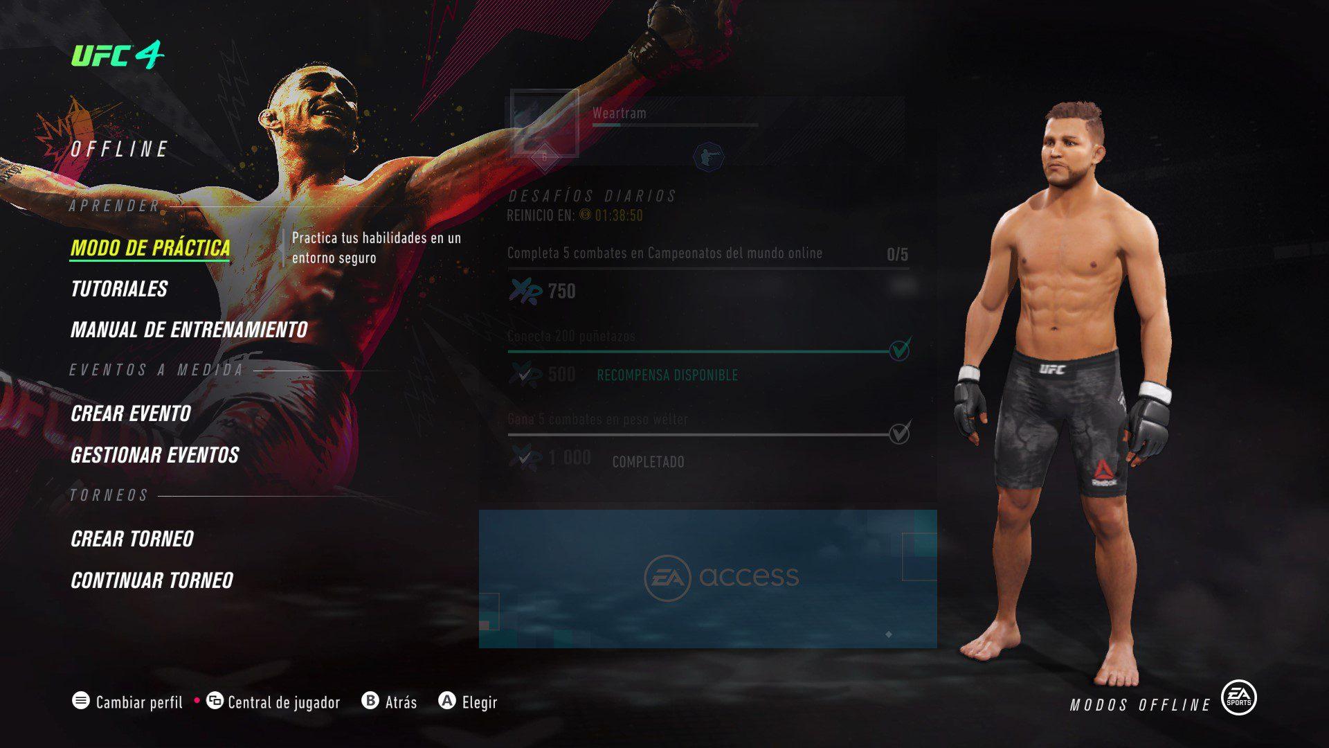 Análisis de UFC 4