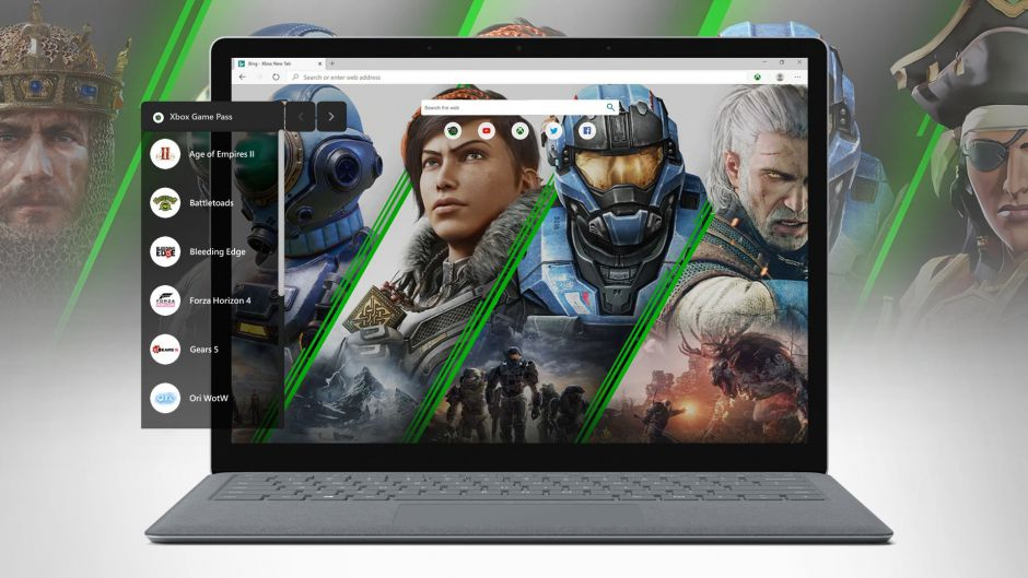 Así es la extensión de Xbox Game Pass para navegadores