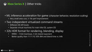 Nuevos detalles del ray tracing de Xbox Series X
