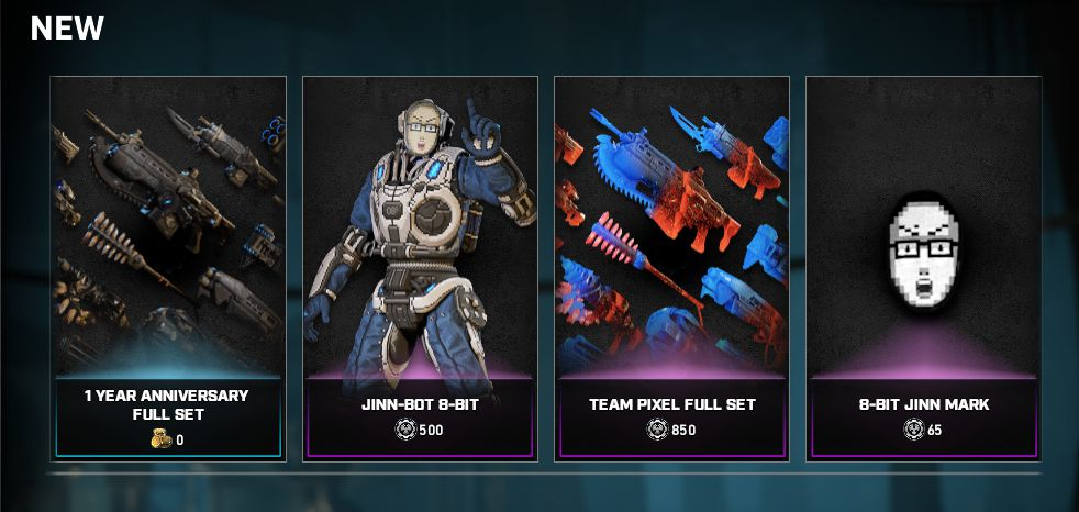Estos son los nuevos desafíos y el nuevo contenido para la tienda de Gears 5