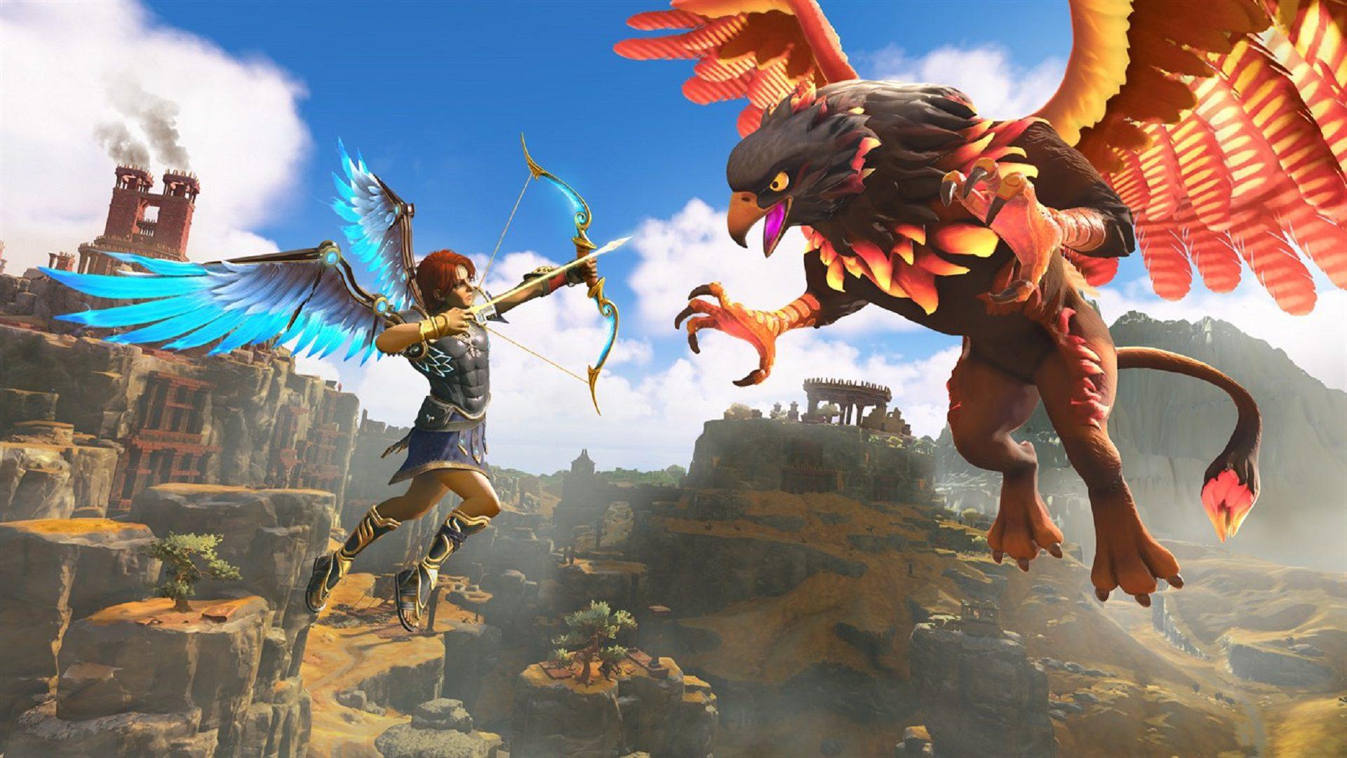Immortals Fenyx Rising está influenciado por los títulos de acción y aventuras de la década del 2000