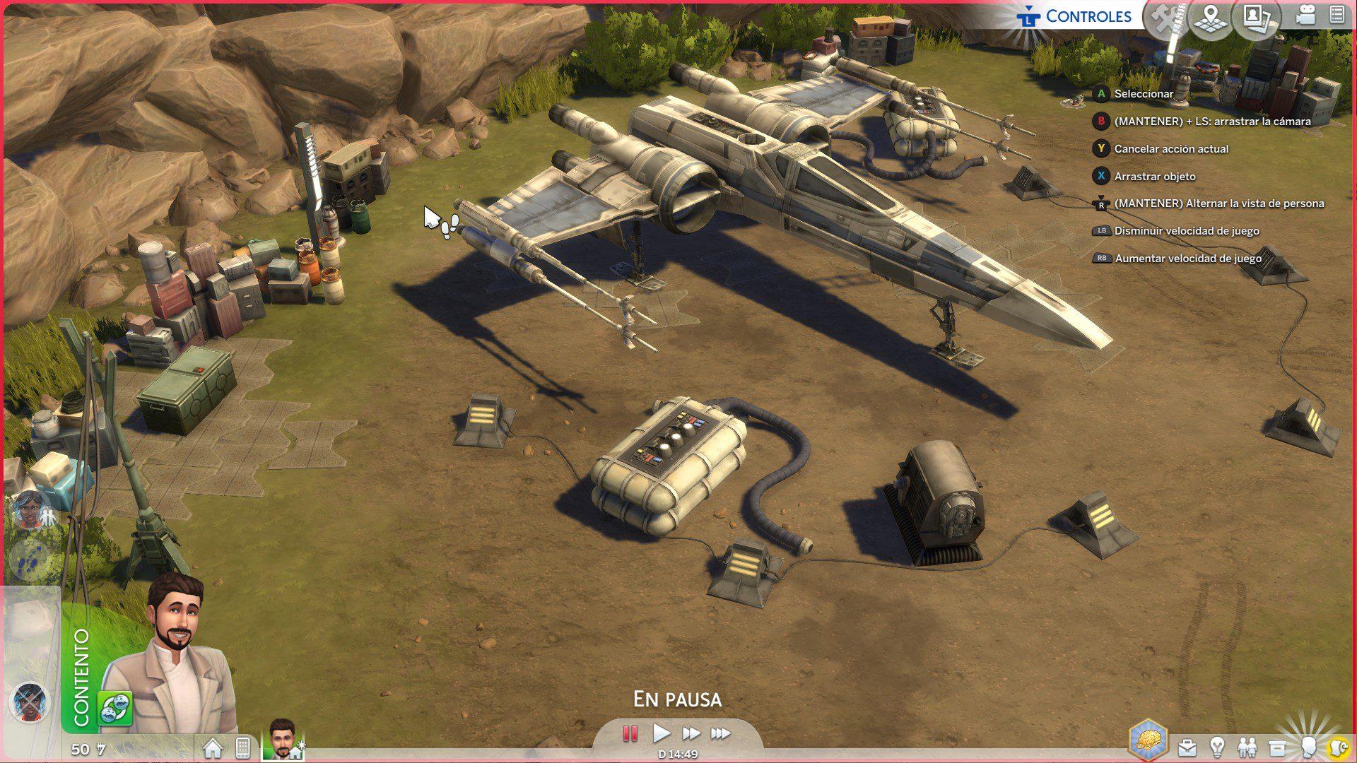 Análisis de Los Sims 4: Viaje a Batuu