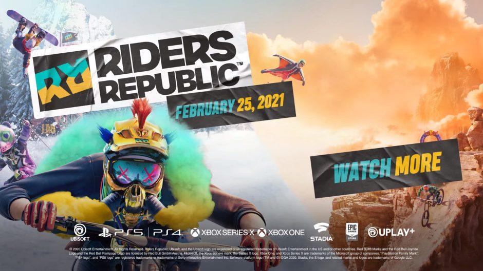 Ubisoft anuncia oficialmente Riders Republic para Xbox One y Xbox Series X