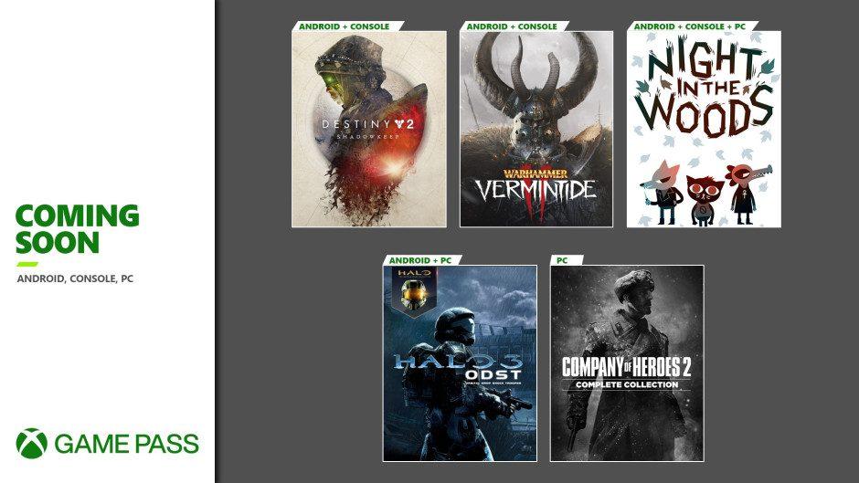 Esta es la segunda tanda de juegos que llegarán este mes a Xbox Game Pass