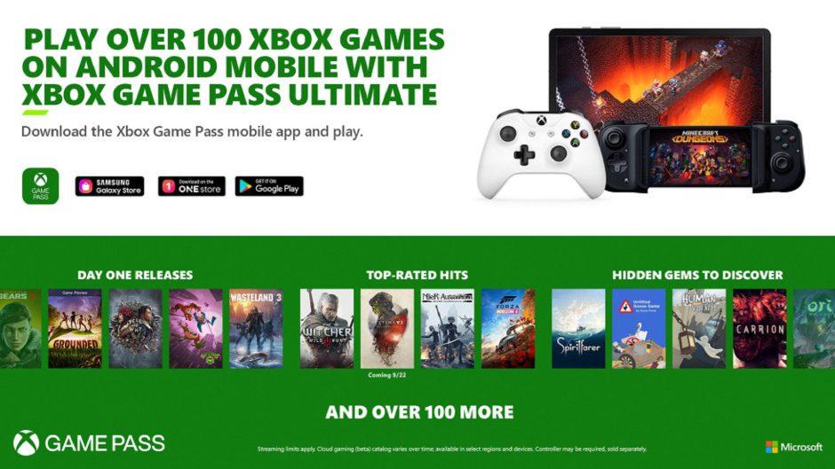 Estos son los más de 150 juegos que llegarán mañana a Cloud Gaming con Xbox Game Pass