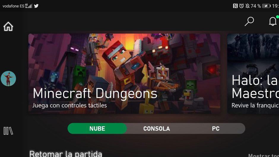 La aplicación de Xbox Game Pass beta se actualiza