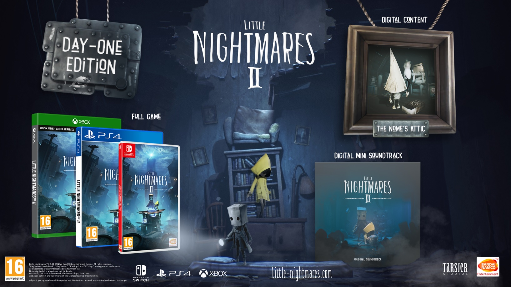 day one little nightmares 2