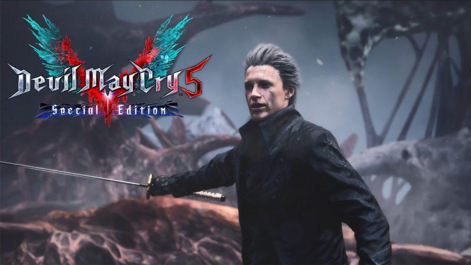 Un pequeño gameplay de Devil May Cry 5: Special Edition muestra a Vergil en acción