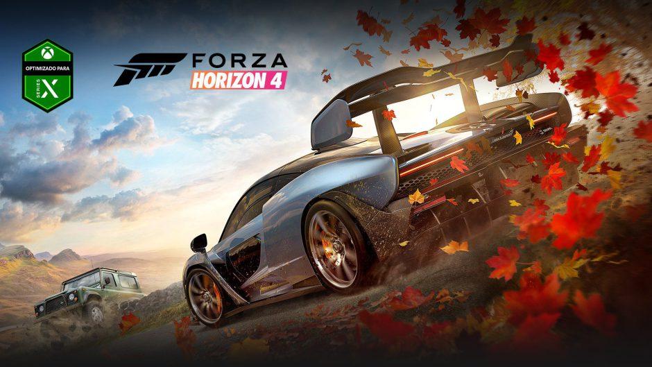 Forza Horizon 4 se actualizará el 10 de noviembre para Xbox Series S y X