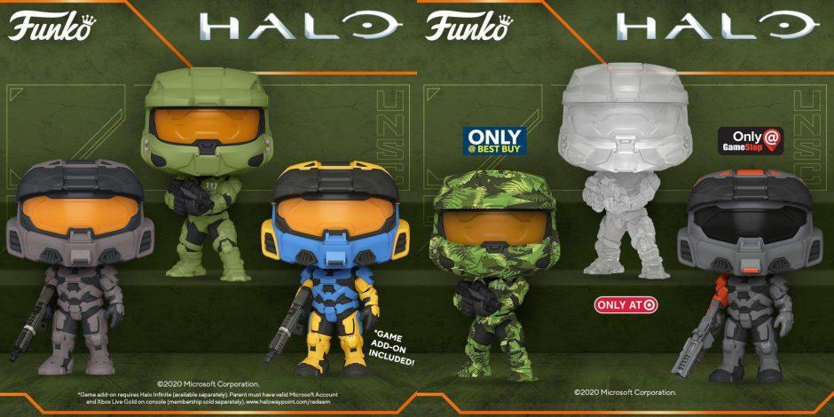 Anunciados los Funko Pop! de Halo Infinite
