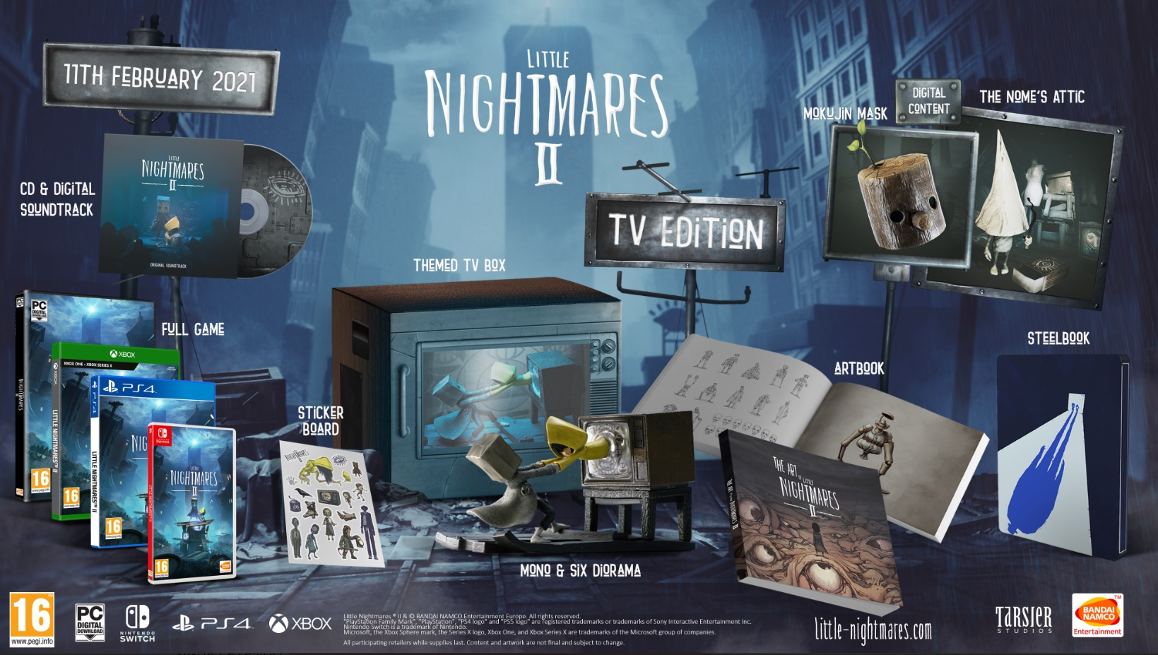 tv edition little nightmares 2