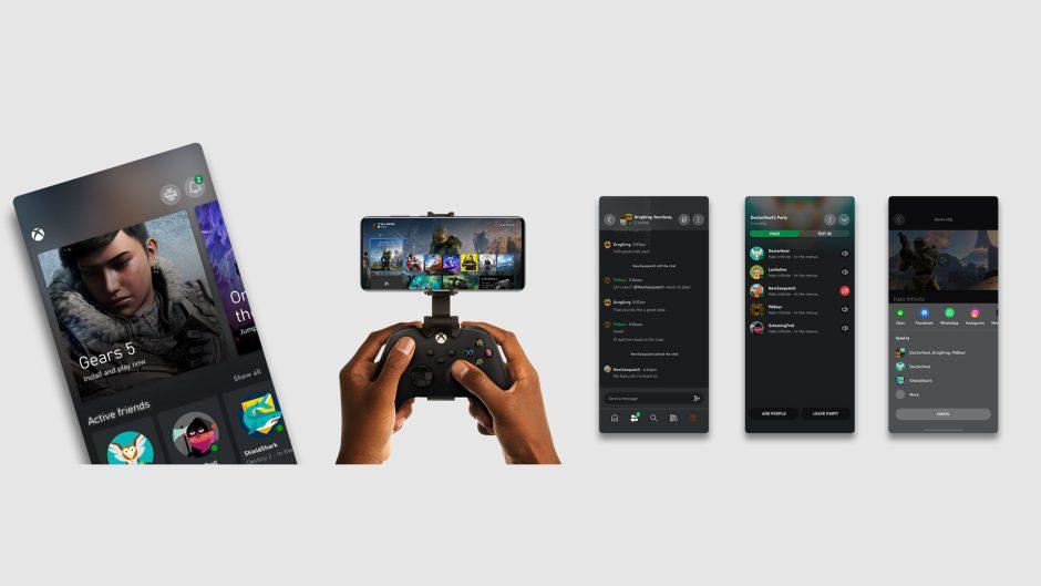 La aplicación de Xbox se actualiza con una mejora de interfaz para las partys