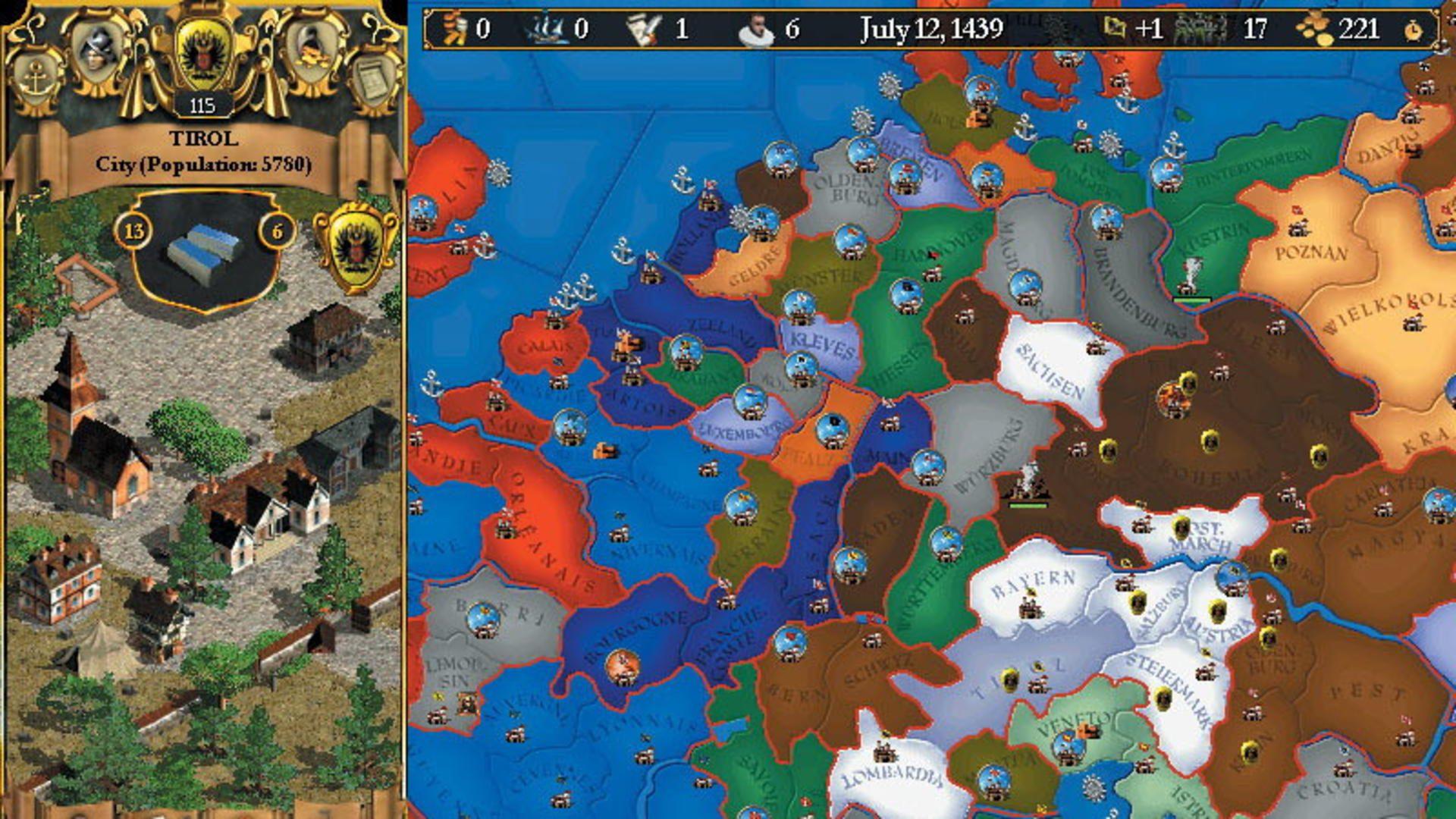 Europa Universalis 2 - generacion xbox