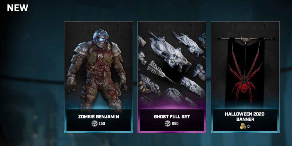 Sigue causando el terror en Gears 5 con Ben Carmine zombie y más novedades de Halloween - The Coalition sigue añadiendo novedades a su evento de Halloween de Gears 5 con Ben Carmine zombie y más cosas interesantes.